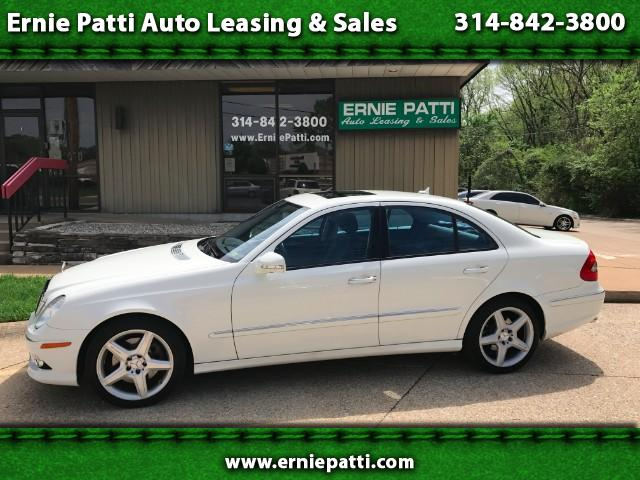 2009 Mercedes-Benz E-Class E350 Luxury 4MATIC