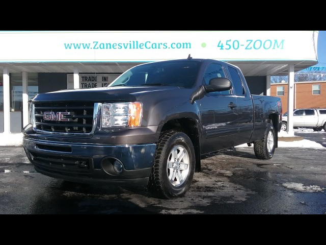 2011 GMC Sierra 1500 SLE Ext. Cab 4WD Z71 6 1/2 ft Bed