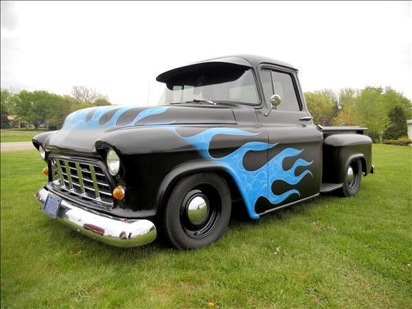 1955 Chevrolet Trucks Pickup Custom