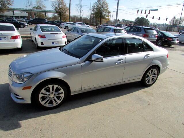 2014 Mercedes-Benz C-Class 4dr Sdn 3.0L Luxury RWD