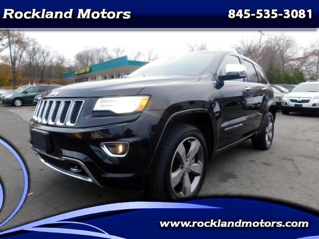 2015 Jeep Grand Cherokee Overland 4WD
