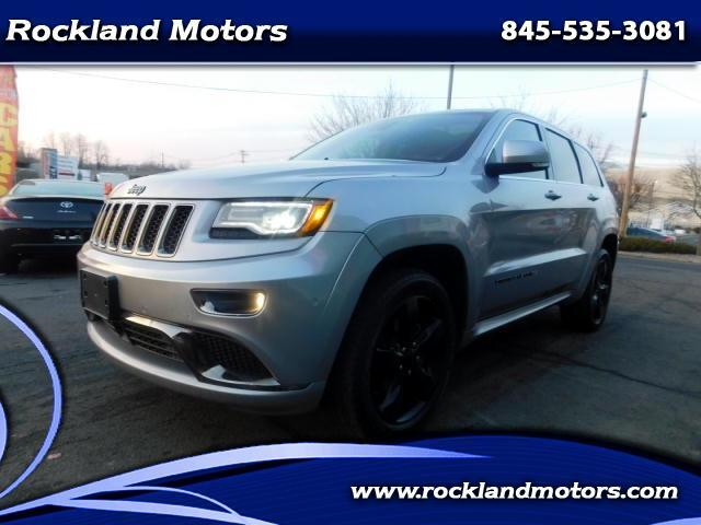 2015 Jeep Grand Cherokee Overland High Altitude Package