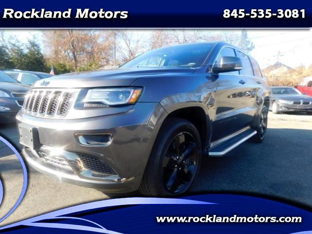 2015 Jeep Grand Cherokee Overland High Altitude