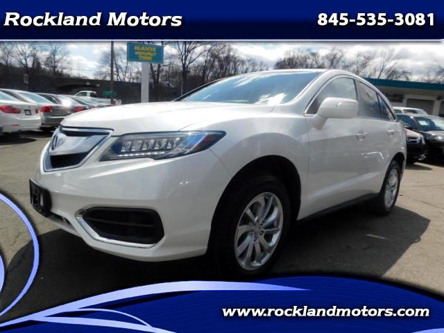 2018 Acura RDX 6-Spd AT AWD w/ Technology Package