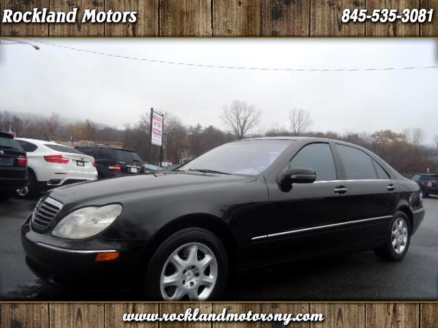 2002 Mercedes S-Class DISCLAIMER WE MAKE EVERY EFFORT TO PRESENT INFORMATION THAT IS ACCURATE HOWE
