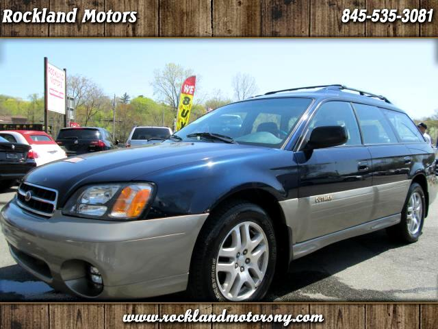 2002 Subaru Outback DISCLAIMER WE MAKE EVERY EFFORT TO PRESENT INFORMATION THAT IS ACCURATE HOWEVE