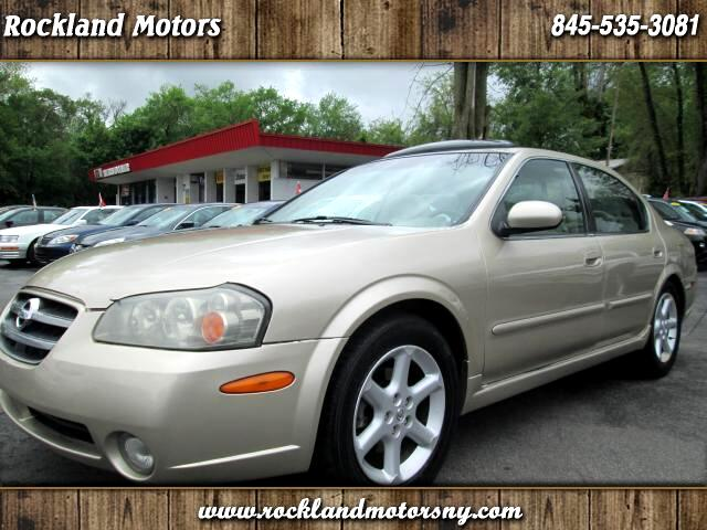 2003 Nissan Maxima DISCLAIMER WE MAKE EVERY EFFORT TO PRESENT INFORMATION THAT IS ACCURATE HOWEVER