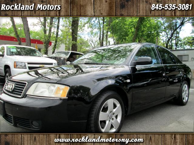 2004 Audi A6 DISCLAIMER WE MAKE EVERY EFFORT TO PRESENT INFORMATION THAT IS ACCURATE HOWEVER IT IS
