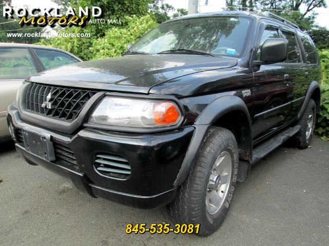 2003 Mitsubishi Montero Sport DISCLAIMER We make every effort to present information that is accur