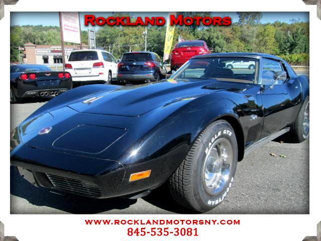 1973 Chevrolet Corvette Stingray DISCLAIMER We make every effort to present information that is acc