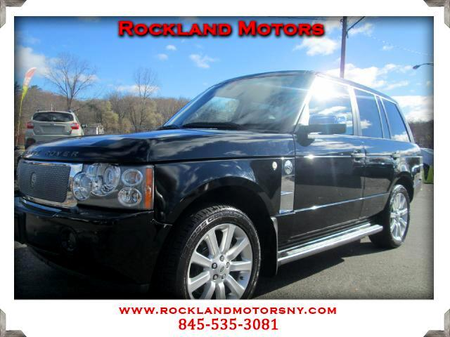 2008 Land Rover Range Rover DISCLAIMER We make every effort to present information that is accurate