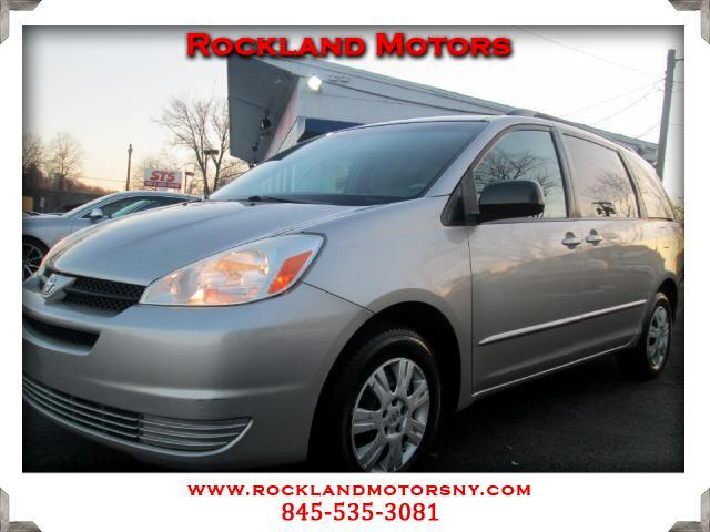 2005 Toyota Sienna DISCLAIMER We make every effort to present information that is accurate However