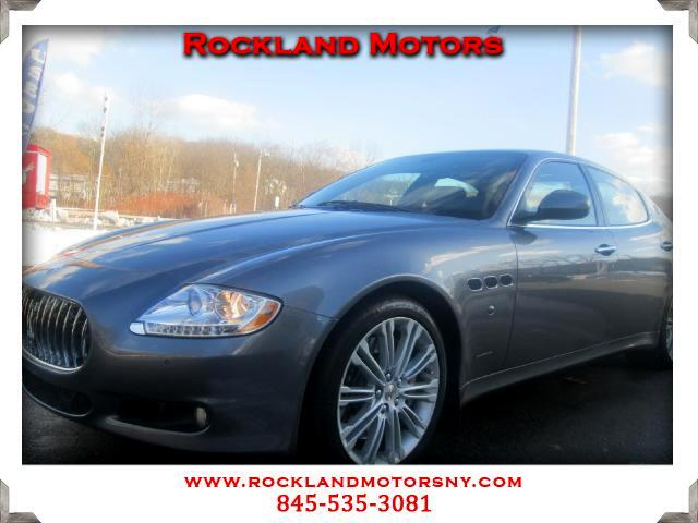 2010 Maserati Quattroporte DISCLAIMER We make every effort to present information that is accurate