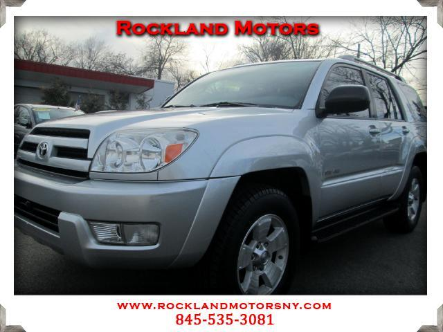 2004 Toyota 4Runner DISCLAIMER We make every effort to present information that is accurate Howeve