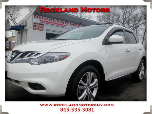 2012 Nissan Murano DISCLAIMER We make every effort to present information that is accurate However
