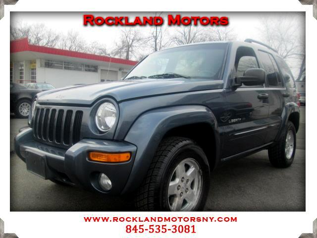 2002 Jeep Liberty DISCLAIMER We make every effort to present information that is accurate However