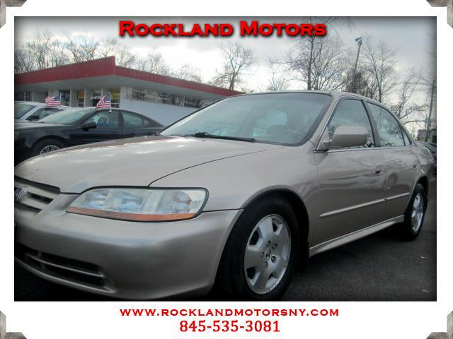 2001 Honda Accord DISCLAIMER We make every effort to present information that is accurate However