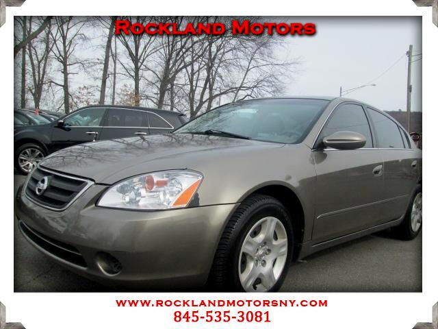 2003 Nissan Altima DISCLAIMER We make every effort to present information that is accurate However