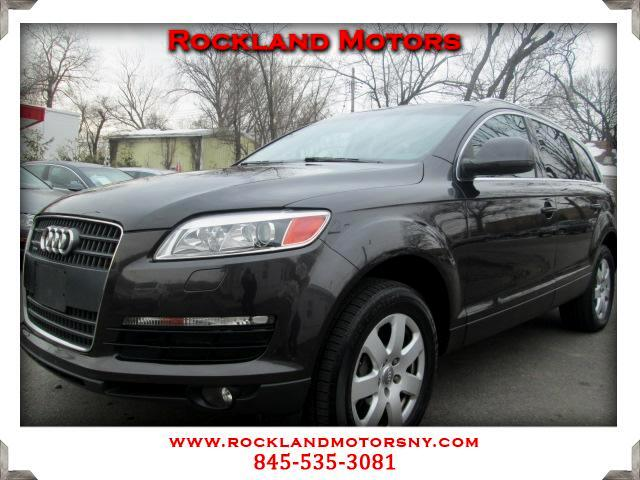 2007 Audi Q7 DISCLAIMER We make every effort to present information that is accurate However it is