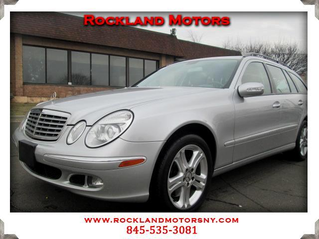 2005 Mercedes E-Class Wagon DISCLAIMER We make every effort to present information that is accurate