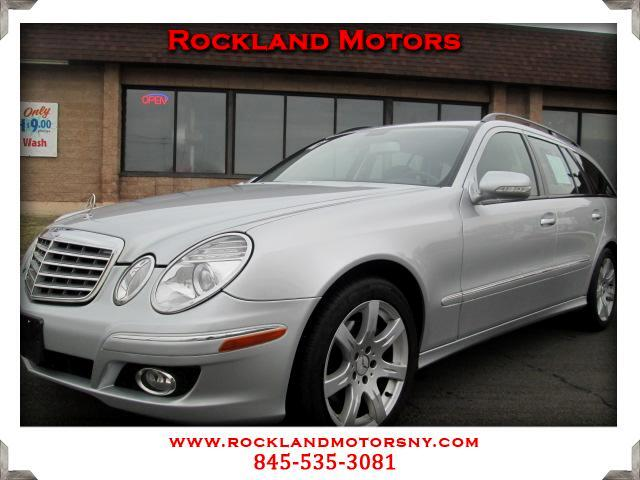 2007 Mercedes E-Class Wagon DISCLAIMER We make every effort to present information that is accurate
