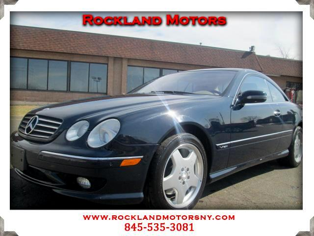 2002 Mercedes CL-Class DISCLAIMER We make every effort to present information that is accurate How