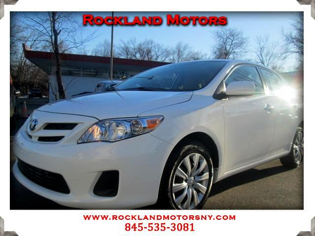 2012 Toyota Corolla DISCLAIMER We make every effort to present information that is accurate Howeve