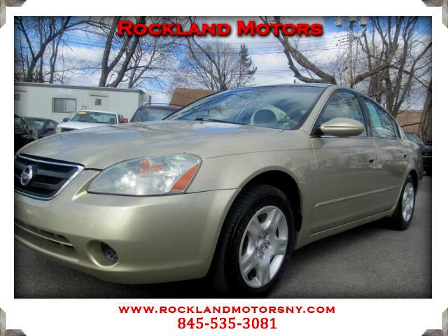 2002 Nissan Altima DISCLAIMER We make every effort to present information that is accurate However