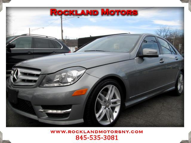 2012 Mercedes C-Class DISCLAIMER We make every effort to present information that is accurate Howe