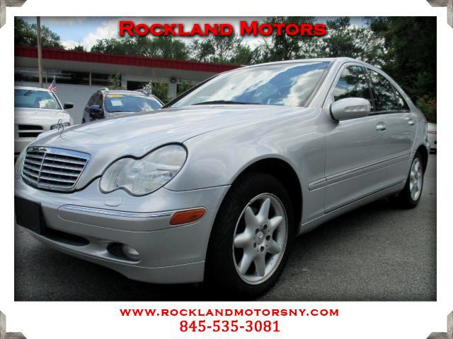 2001 Mercedes C-Class DISCLAIMER We make every effort to present information that is accurate Howe