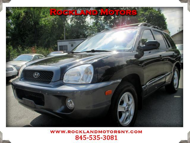 2002 Hyundai Santa Fe DISCLAIMER We make every effort to present information that is accurate Howe
