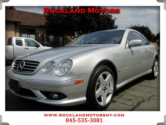 2003 Mercedes CL-Class DISCLAIMER We make every effort to present information that is accurate How