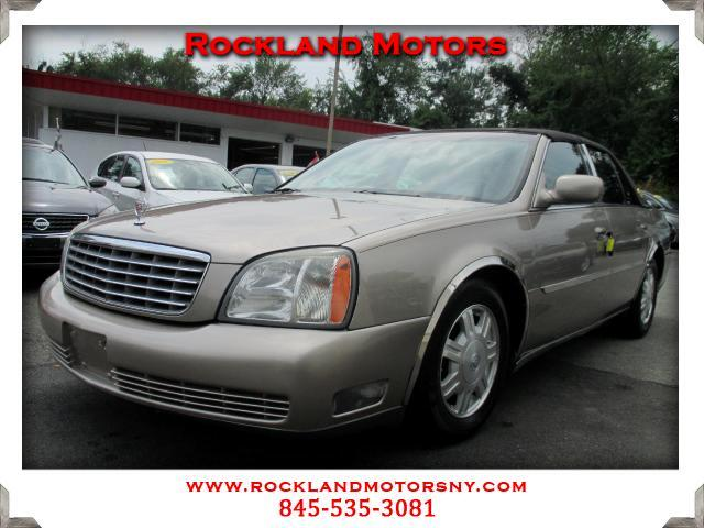 2004 Cadillac DeVille DISCLAIMER We make every effort to present information that is accurate Howe