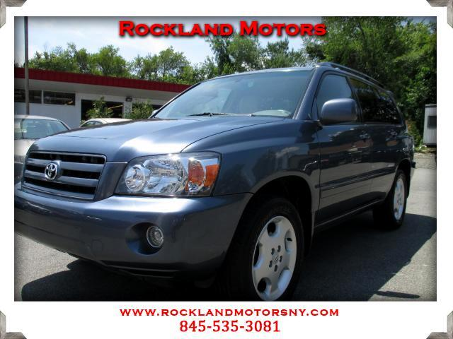 2006 Toyota Highlander DISCLAIMER We make every effort to present information that is accurate How