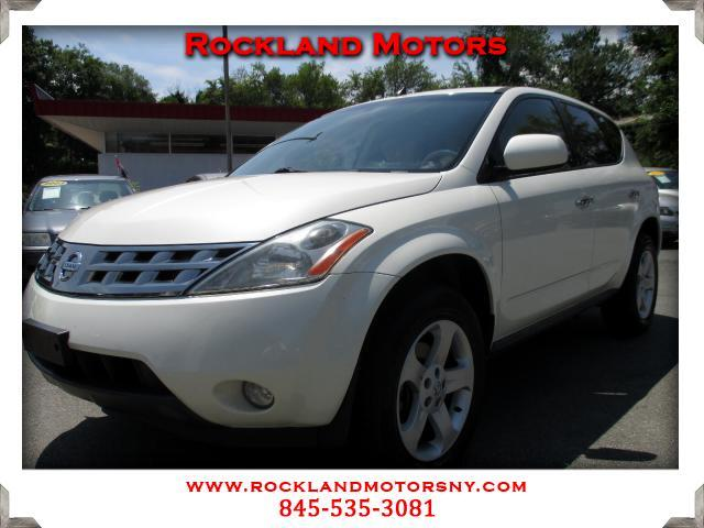 2005 Nissan Murano DISCLAIMER We make every effort to present information that is accurate However