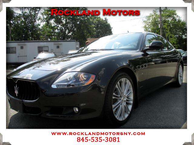 2012 Maserati Quattroporte DISCLAIMER We make every effort to present information that is accurate