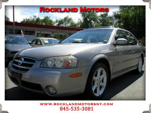2002 Nissan Maxima DISCLAIMER We make every effort to present information that is accurate However