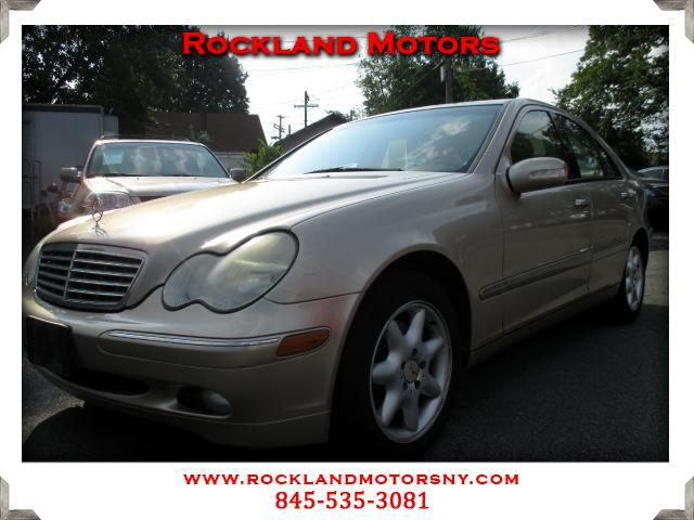 2003 Mercedes C-Class DISCLAIMER We make every effort to present information that is accurate Howe