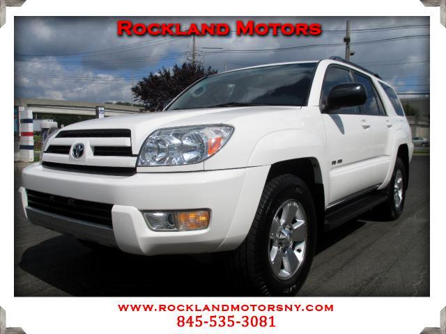 2003 Toyota 4Runner DISCLAIMER We make every effort to present information that is accurate Howeve