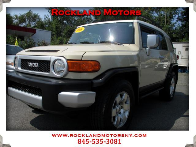 2008 Toyota FJ Cruiser DISCLAIMER We make every effort to present information that is accurate How