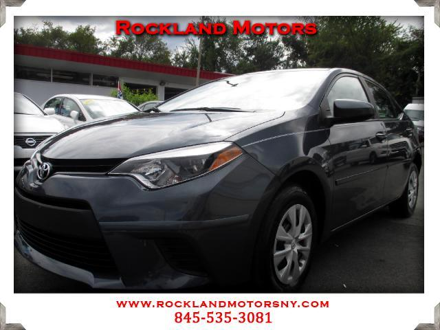 2014 Toyota Corolla DISCLAIMER We make every effort to present information that is accurate Howeve