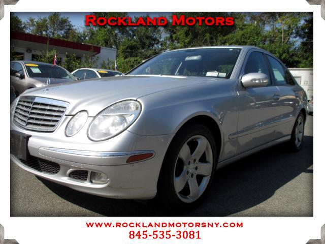 2006 Mercedes E-Class DISCLAIMER We make every effort to present information that is accurate How