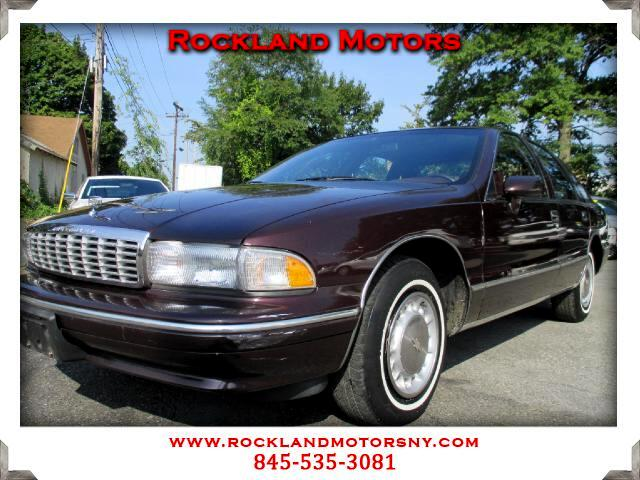 1994 Chevrolet Caprice Classic DISCLAIMER We make every effort to present information that is accur