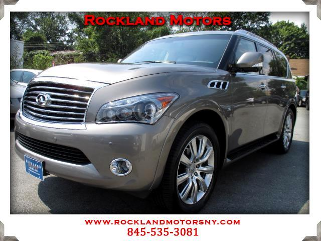 2014 Infiniti QX80 DISCLAIMER We make every effort to present information that is accurate However