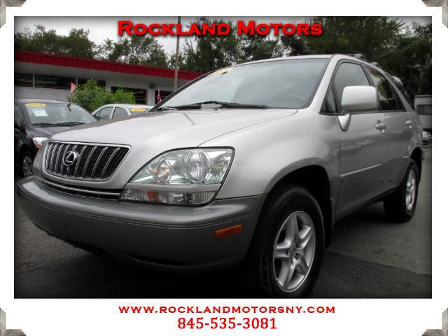 2001 Lexus RX 300 DISCLAIMER We make every effort to present information that is accurate However