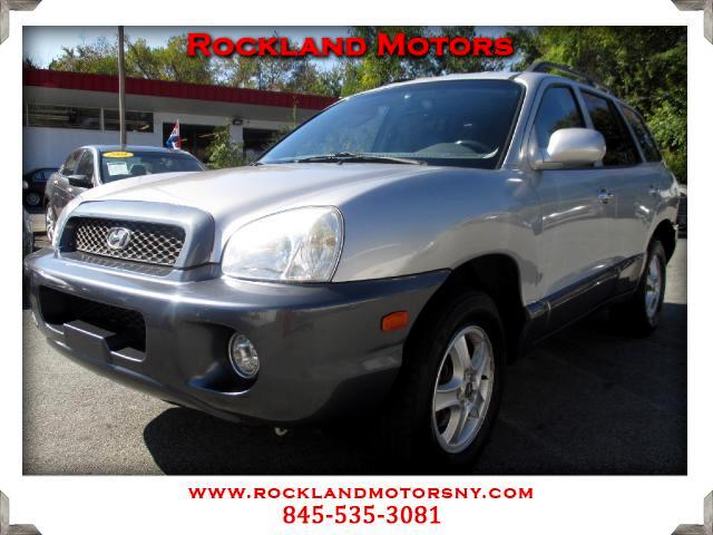 2004 Hyundai Santa Fe DISCLAIMER We make every effort to present information that is accurate Howe
