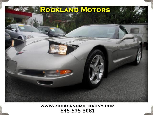 2001 Chevrolet Corvette DISCLAIMER We make every effort to present information that is accurate H