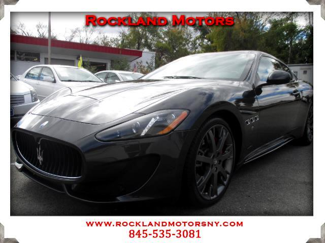 2013 Maserati GranTurismo DISCLAIMER We make every effort to present information that is accurate