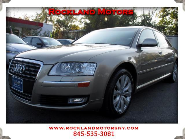2009 Audi A8 DISCLAIMER We make every effort to present information that is accurate However it is