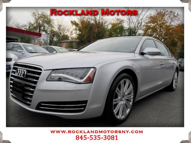 2012 Audi A8 DISCLAIMER We make every effort to present information that is accurate However it is